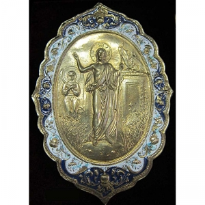 1.15 Икона бронзовая Воскресение Христово