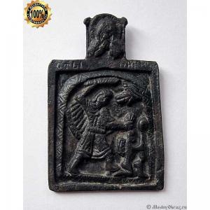 1.17 Икона Святой великомученик Никита побивающий беса, 18в.