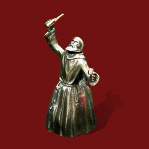 "1.23 Колокольчик бронзовый ""Монах"""
