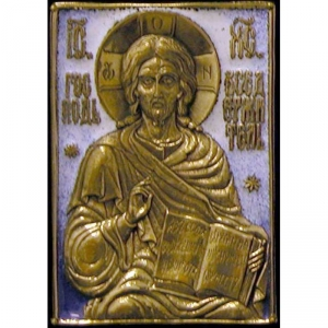 1.36 Медная икона Господь Вседержитель
