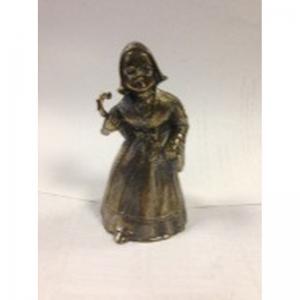 1.38 Колокольчик бронзовый «Дама с зонтиком»