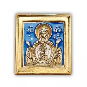 2.1.1 Медная икона Богоматерь Знамение