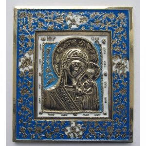 2.2.12 Икона медная Богоматерь Казанская