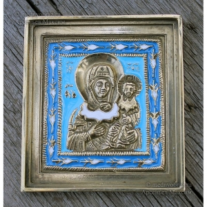 2.2.1 Икона медная Одигитрия Смоленская