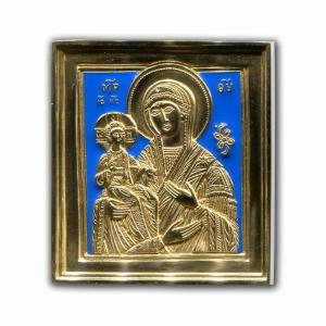 2.2.24 Икона медная Богоматерь Троеручница