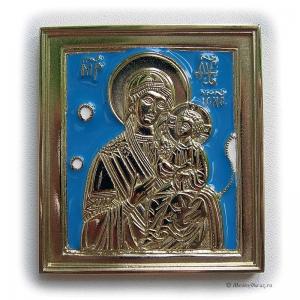 2.2.5 Медная икона Иверская Богородица