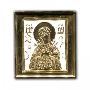 2.4.19 Икона бронзовая Умягчение Злых Сердец