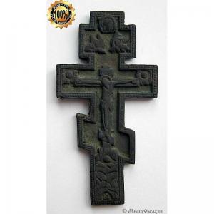 3.12 Редкий малый киотный крест Распятие,Выг(?).18-19вв.