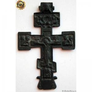 3.13 Наперсный медный крест, кон.17в.
