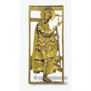3.42 Медная икона Святой Андрей Стратилат