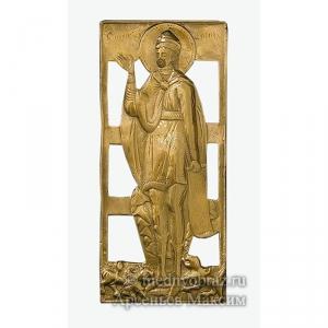 3.43 Медная икона Святой Даниил во рву