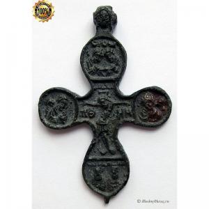 3.4 Медный наперстный крест-пропеллер 16-17вв.