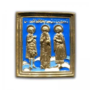 3.67 Святые Харалампий, Иоанн Воин и Вонифатий