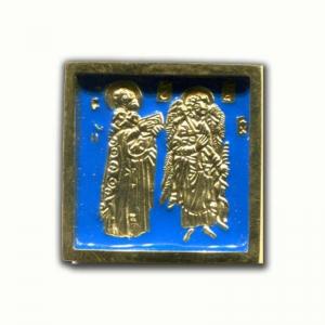 3.69 Святитель Николай Чудотворец и Ангел Хранитель, малая икона