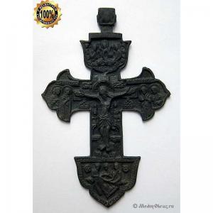 3.6 Медный крест Распятие Христово, 18в.