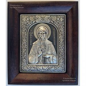 3.9 Серебряная икона Матрона Московская