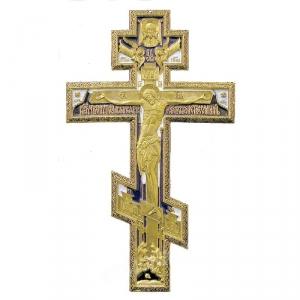 4.2.14 Медный киотный крест Распятие Христово