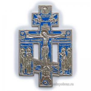 4.2.1 Медный киотный крест с предстоящими