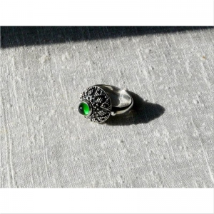 45.Кольцо с зернью