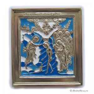 6.32 Икона медная Богоявление (Крещение)