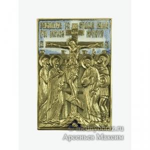 6.60 Икона медная Распятие Христово