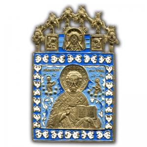 3.70 Николай Чудотворец с херувимами