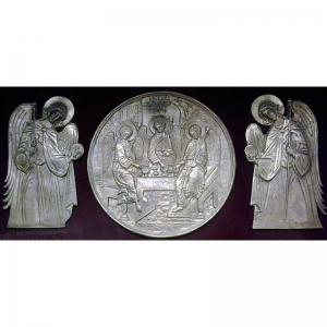 6.70Святая Троица с предстоящими Архангелами Михаилом и Гавриило
