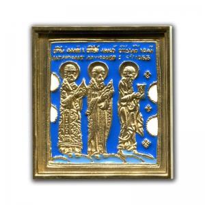 3.71 Иоанн Богослов, Николай Чудотворец и митрополит Филипп