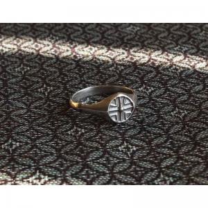 76. Древнерусский щитковосрединный перстень
