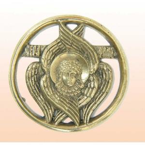 8.13 Икона медная Святой Серафим