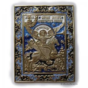 8.19 Икона медная Архангел Михаил