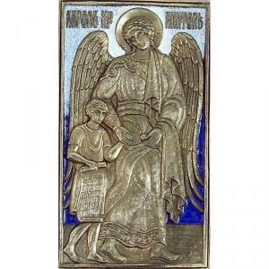 8.6 Икона медная Ангел Хранитель