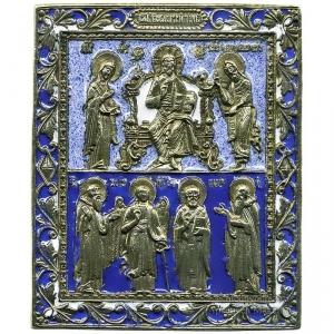 1.12 Деисус.Избранные святые