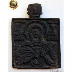 1.60 Медная икона Великомученица Параскева Пятница,18в.