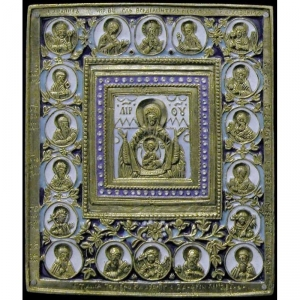 2.1.2 Икона медная Богоматерь Знамение