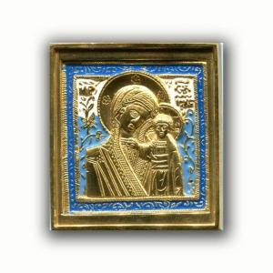 2.2.19 Икона медная Богоматерь Казанская