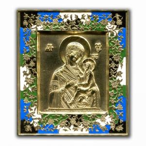2.2.24 Медная икона Тихвинская Богородица