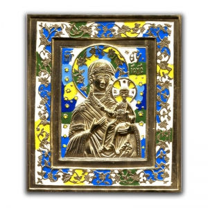 2.2.7 Икона медная Богоматерь Одигитрия Смоленская