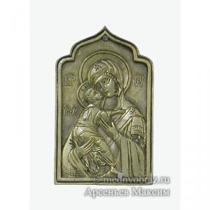 2.3.10 Владимирская медная икона Божией Матери