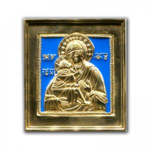 2.3.10 Икона медная Богоматерь Феодоровская