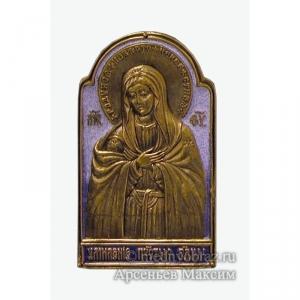 2.3.11 Медная икона «Умиление» Серафимо-Дивеевская