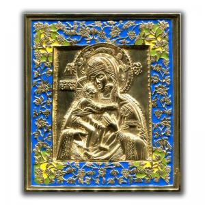2.3.8 Икона медная Богородица Феодоровская