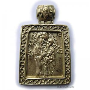 2.4.16 Икона Богородица, иконография 17в.
