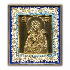 2.4.21 Икона медная Умягчение Злых Сердец