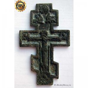 3.11 Малый киотный крест Распятие Христово.Выг(?).18-19вв.