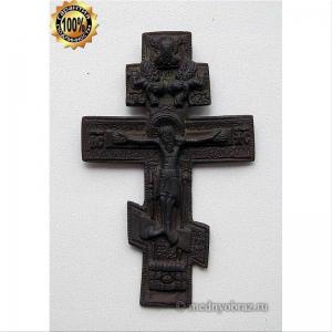 3.1 Медный крест Распятие Христово (Выг), 18в.