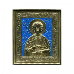 3.52 Медная икона Великомученик Пантелеимон