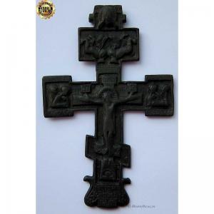 3.54 Наперсный медный крест,кон.17в.