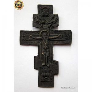 3.5 Медный крест Распятие Христово, 19в.