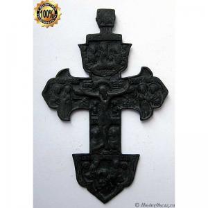 3.7 Медный крест Распятие Христово, 18в.